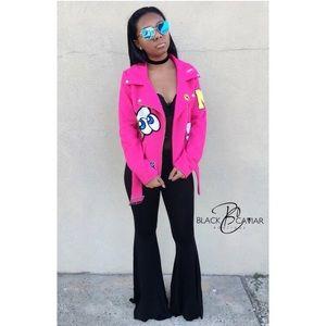 Jackets & Blazers - Wool Moto Jacket